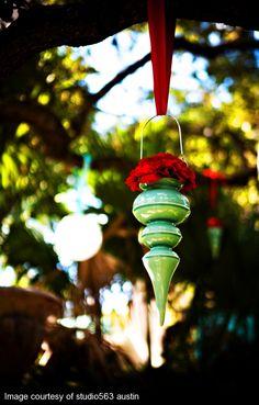 Laguna Gloria wedding decor
