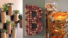 Open another bottle of wine! 10 DIY home projects using corks