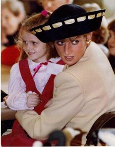 1991 ~ Lady Diana's visit to Rideaucrest Home for the Aged and the Frontenac…
