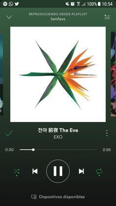 💕#EXO #엑소 #ChanYeol #Xiumin #Do #Chen #Suho #Kai #Baekhyun #TheWarEXO #TheEve #spotify #kpop #music #day
