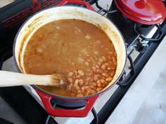 Dutch Oven Pinto Beans Camp Chef Recipe - Smokin' Pete's BBQ