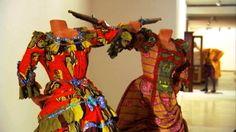 Yinka Shonibare MBE: Black Artists, Art 21 video The Swing (after Fragonard). Yinka Shonibare. 2001 C.E. Mixed-media installation.
