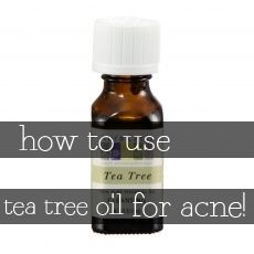 Using tea tree oil for acne has been super effective for me. Here are some methods I've used!