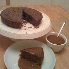 Instant Coffee Cake with Coffee Sauce Recipe