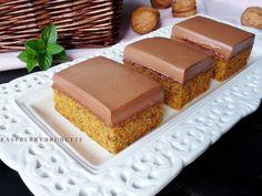 Raspberrybrunette: Mrkvovo-orechové rezy s jednoduchým čokoládovým kr. Jelly Beans, Vanilla Cake, Nutella, Carrots, Cheesecake, Cooking, Healthy, Sweet, Recipes
