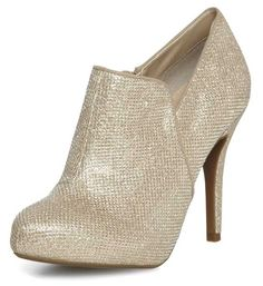 Dorothy Perkins ~ gold shoe boots