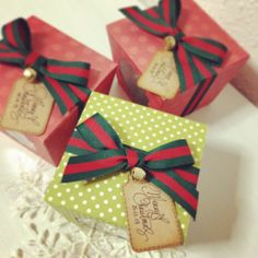 #christmas #giftbox #handmade