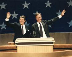 Thirty-third Republican National Convention, at Dallas, renominates President Reagan and Vice President Bush (Aug. 20–25, 1984)