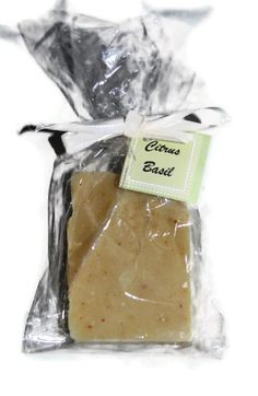 Cold Process Soap  Citrus Basil  3 Oz Bar by ScentSmithStudios, $5.00
