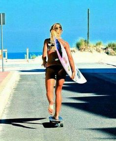 On my way for some waves! :-)