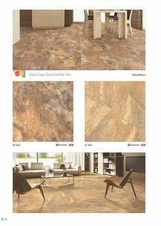 Do not settle for less.   Millennium #Tiles Pvt. Ltd. we provide value.  SG 016 & SG 019 - Millennium Tiles 600x600mm (24x24) Digital Brilliante Sugar GVT #Porcelain Tiles Series  - Random Print Technology: A Design with several variations without a systematic #pattern or discernible sequence in its appearance. A non-repetitive pattern creates a #surface that makes every #room look bigger.