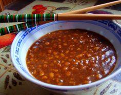 Thai Peanut Stir-Fry Sauce - on chicken veggie stir-fry 6 March 2013 Peanut Sauce Recipe, Thai Peanut Sauce, Peanut Butter Sauce, Thai Recipes, Sauce Recipes, Vegan Recipes, Vegan Soups, Lunch Recipes, Free Recipes
