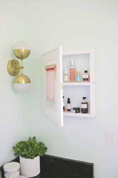 Hidden Medicine Cabinet DIY