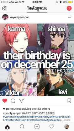You know the 25 of December is the most common birthday in history