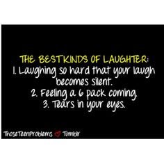 The best times of laughter