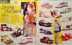 Diligo Summer Sandal feature in GRAZIA Magazine