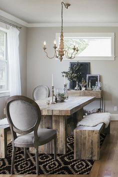 Home Decor Living Room .Home Decor Living Room Dining Room Table Decor, Country Dining Rooms, Family Room Decorating, Decorating Small Spaces, Natural Home Decor, Washable Rugs, Home Rugs, Grey Rugs, Cheap Home Decor