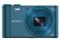 Sony Cyber-shot DSC-WX300/LCE32 18.2MP Point-and-Shoot Digital Camera (Blue) with Camera Case for Rs. 16,049 only - Amazon.in - Electronics ...