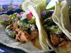 Slow Cooker Pork Chop Tacos
