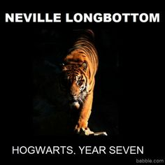 Neville, the later years.....One million points to Griffindor