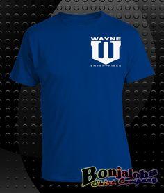 Batman - Wayne Enterprises Icon (Nolan Film Version) (T-Shirt) - Outlaw Custom Designs, LLC