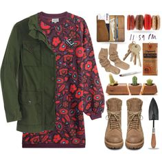 The Great Outdoors by sherieme on Polyvore featuring Kenzo, J.Crew, Rick Owens, CO, Dot