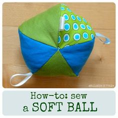 How To Make A Soft Fabric Ball