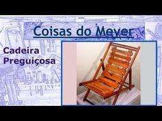 Reciclagem - Cadeira preguiçosa - YouTube