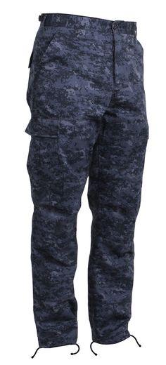 da4c633b0e6 Digital Camo BDU Pants Military Camouflage