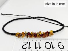 Natural amber macrame necklace / mexican red amber bead   Etsy Macrame Necklace, Amber Necklace, Love Bracelets, Bangle Bracelets, I Love Mexico, Amber Beads, Boho Rings, Healing Stones, Stone Rings