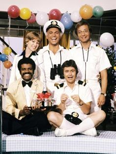 Growing up this was the show I wanted to be on (pre Vicki). The Love Boat. - I was on the cusp of being old enough to go out, but not old enough yet and I so remember watching and loving this show.... this show made me want to take a cruise.... good times