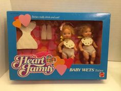 The Heart Family Baby Wets Babies Mattel 7173 in Dolls & Bears, Dolls, Barbie Contemporary (1973-Now) | eBay