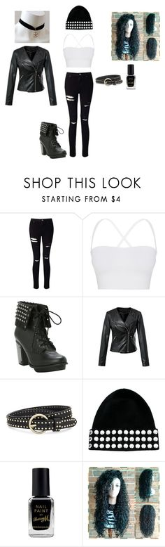 """Metal style"" by megansmith1917 on Polyvore featuring Miss Selfridge, Theory, Sandro, Sonia by Sonia Rykiel and Barry M"