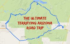 The Ultimate Terrifying Arizona Road Trip Is Right Here – And You'll Want To Do It