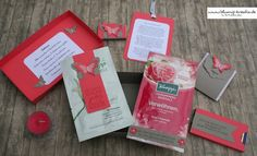 Blumis - kreativ Blog: Wellness-to-go Wellness To Go, Box, Stampin Up, Advent, Bath Salts, Craft, Goodies, Cash Gifts, Packaging
