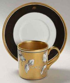 Minton ROSENBORG Demitasse Cup & Saucer 9498974