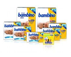 FRALDAS BAMBINO T3 MEDIO 4-10 Kg 30 UNI