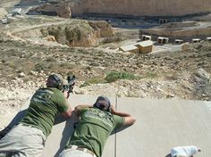 MissionX's Matt Nyman doing some high angle shooting with the M4