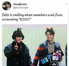 Read Changlix - Stockholm Syndrome from the story Kings Game K Pop, Bts Namjoon, Funny Kpop Memes, Bts Memes, Kings Game, Felix Stray Kids, Crazy Kids, Lee Know, Kpop Groups