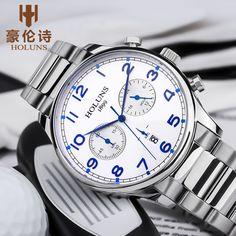 Dropshipping Quartz Wristwatches 100m Waterproof Sub Dial Working Steel Strap Band Watch Men Gift Mens Clock horloges mannen Price: 72.78 & FREE Shipping #staysafe #practicesafetyguidlines #fashion|#sport|#tech|#lifestyle