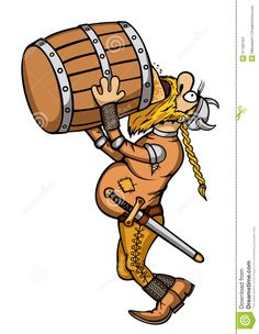 Viking Drunk - Download From Over 38 Million High Quality Stock Photos, Images, Vectors. Sign up for FREE today. Image: 31160164