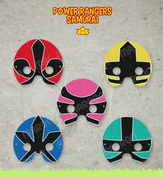53 Best Power Rangers Samurai Party Images Power