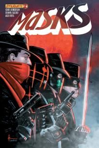 Masks #2 Howard Chaykin cover d ---> shipping is $0.01 !!!