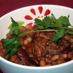 "Sweet Barbeque Beans I ""Very tasty beans. Will always have this recipe for the side dish for BBQ."""