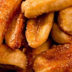 A Sweet and yummy recipe for fried brown sugar bananas. Serve on their own or with cream. �. Sweetened Fried Bananas  Recipe from Grandmothers Kitchen.