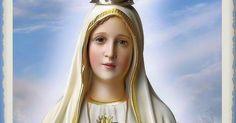 Oh María, haz que viva en Dios, con Dios y por Dios.
