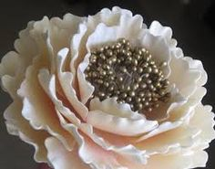Image result for peonies wedding cake