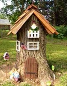 build a roof for a stump - Google Search