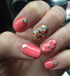 Coral and Colorful