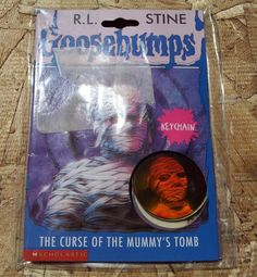 Goosebumps Hologram key chain The Curse of the Mummy's Tomb RARE